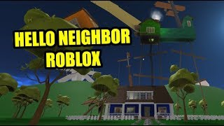 Hello Neighbor Roblox | Hello, Brother! - Pre-Alpha Speed Run