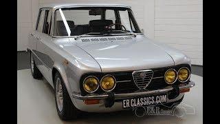 Alfa Romeo Giulia Nuova Super 1600 1977 -VIDEO- www.ERclassics.com