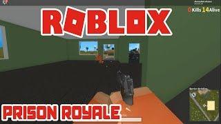 ROBLOX PRISON ROYALE: Modo baseado em Battlegrounds