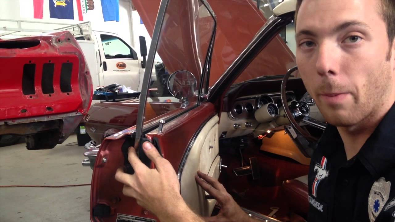 Window Adjustment On Scott S 1966 Mustang Convertible Day 13 Part 2 Youtube