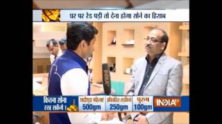 Public reaction on gold restriction law - India TV