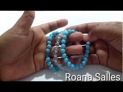 422df82036f7fa Como fazer pulseiras (trio de pulseiras-kit com laço)