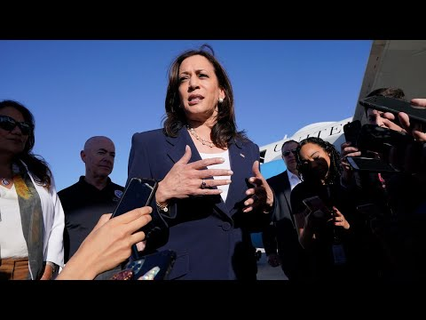 WATCH LIVE: Vice President Kamala Harris to speak with media after her trip to U.S./Mexico border