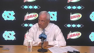 UNC Mens's Basketball: Roy Williams Press Conference - 10/9