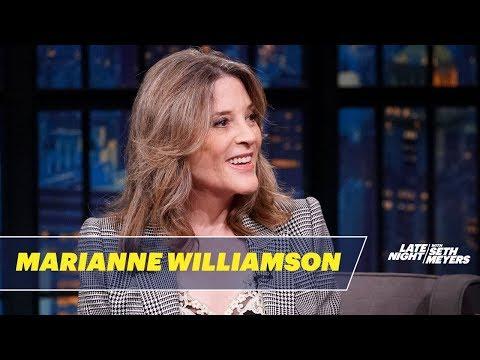Marianne Williamson on Humor, Morality andBeatingTrump in 2020