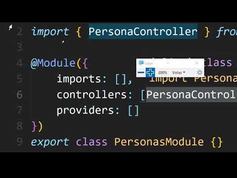 NODEJS API REST CRUD NEST JS Parte 2