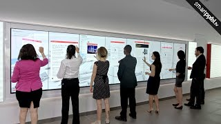 MULTI TOUCH AND MULTI USER INTERACTIVE VIDEO WALL TOUCH SCREEN APP