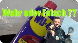Wahr oder Falsch?? WD40 entfernt Kratzer / True or Fake?? WD40 removes Scratches