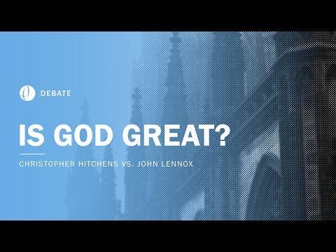 Christopher Hitchens vs John Lennox | Is God Great? Debate