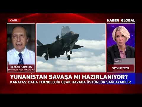 Emekli Pilot Tümgeneral Beyazıt Karataş: 'Yunanistan Borç İçindeyken Uçak Almaya Kalkıyor'
