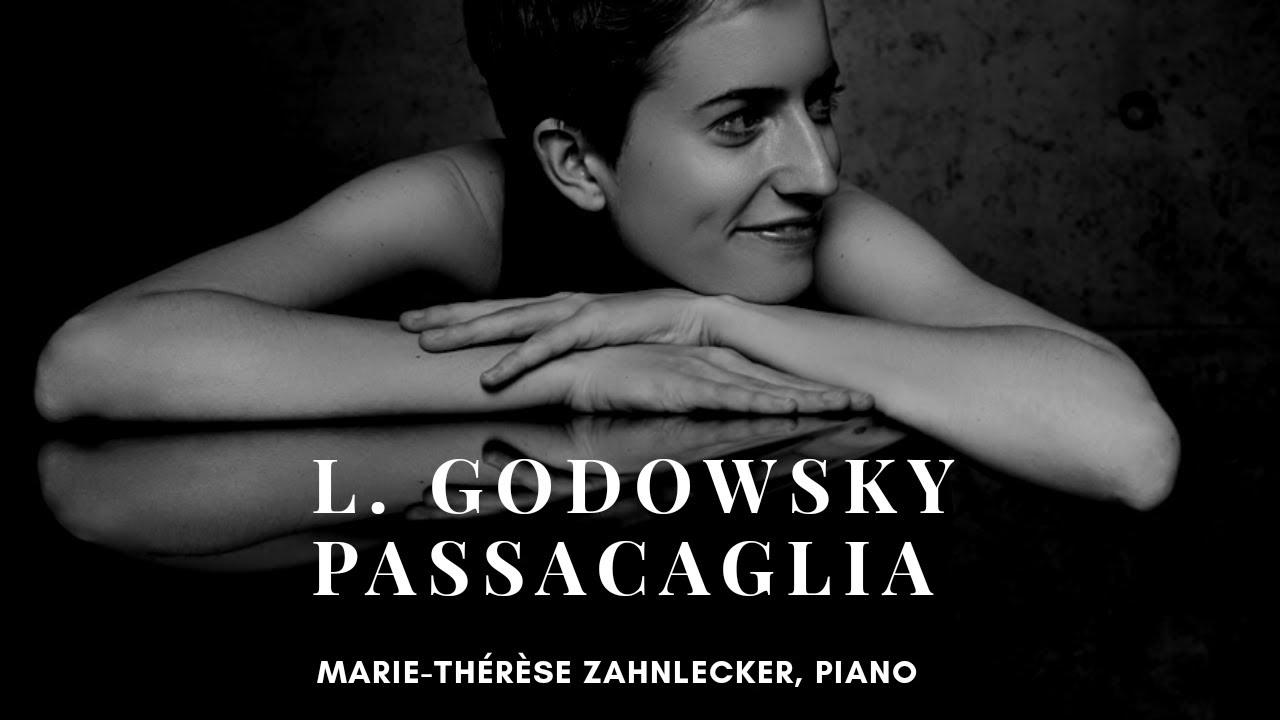 Leopold Godowsky: Passacaglia B Minor (Zahnlecker) - SCORE