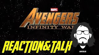 Avengers: Infinity War Official Trailer #Reaction&Talk