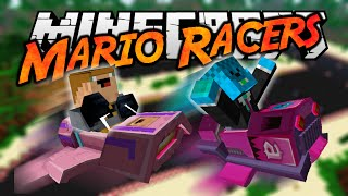 Minecraft: BANANE!!! - MARIO RACERS MINI-IGRA! (ft. MarkoKOFS)
