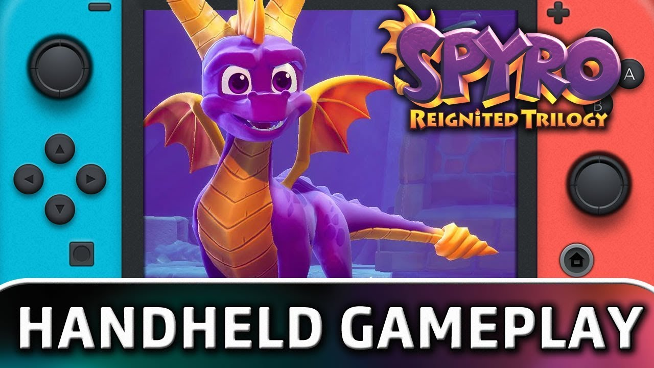 Spyro: Reignited Trilogy | 10 Minutes in Handheld MODE on Nintendo Switch