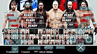 WWE SVR 2K19 PSP MOD PATCH FOR GAMERNAFZ V1.99 BY SVR TECHNICAL