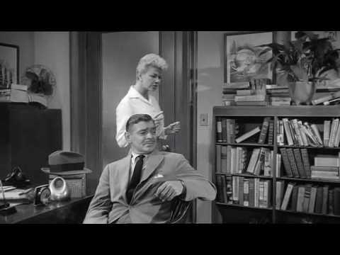 Download Doris Day Clark Gable 'Teacher's Pet' 1958 funny clip