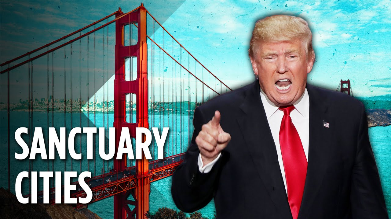 Image result for sanctuary cities trump