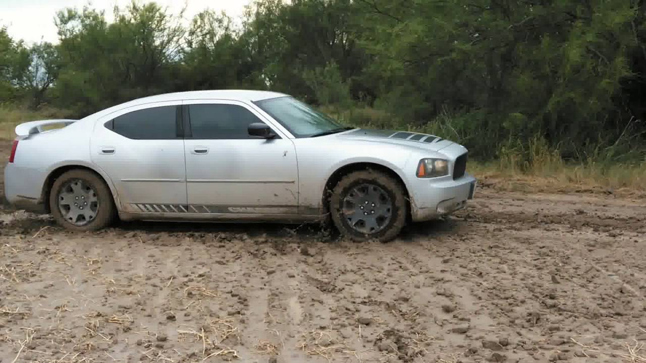 Went Mudding In A Ford F-150 & Dodge Charger
