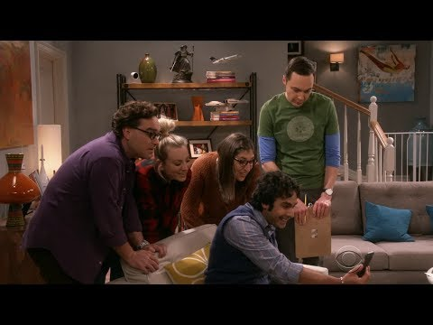 The Big Bang Theory - Bernadette Gives Birth to a Baby Boy