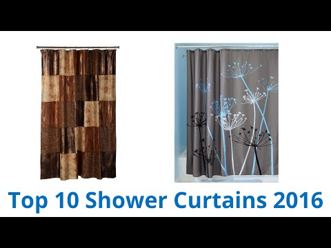 10 Best Shower Curtains 2016