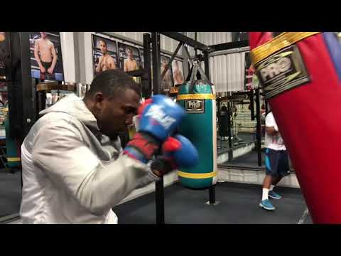 mikey garcia sparring partners for errol spence fight working out