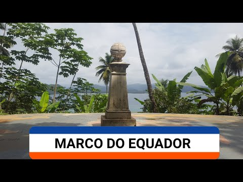 MARCO DO EQUADOR ILHEU DAS ROLAS