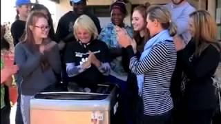 lg donates washing machine to woodrock animal rescue