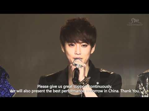[Eng] Ending - Suho Talk - EXO SHOWCASE in Seoul - HD