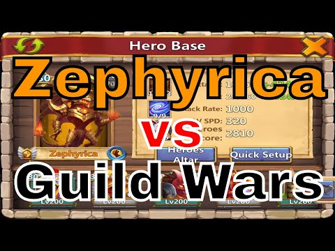 Castle Clash Zephyrica Vs. Guild Wars