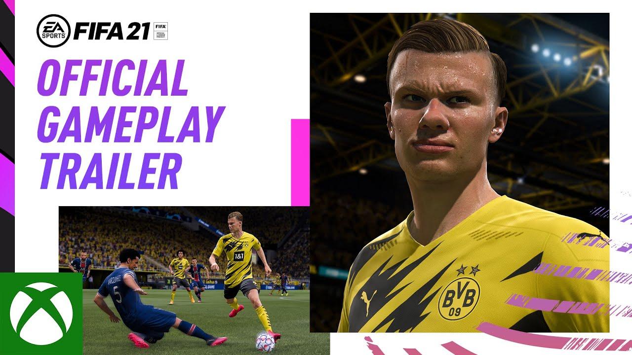 FIFA 21 - Gameplay Tráiler