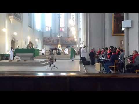 Coro geral   Missa posse pe  Roberto