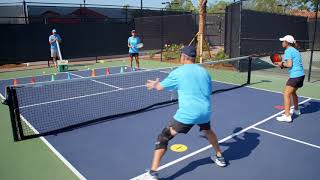 Pickleball Tutor Tips: How to Beat a Hard Hitter