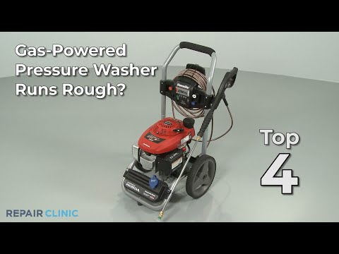 Pressure Washer Runs Rough? Pressure Washer Troubleshooting
