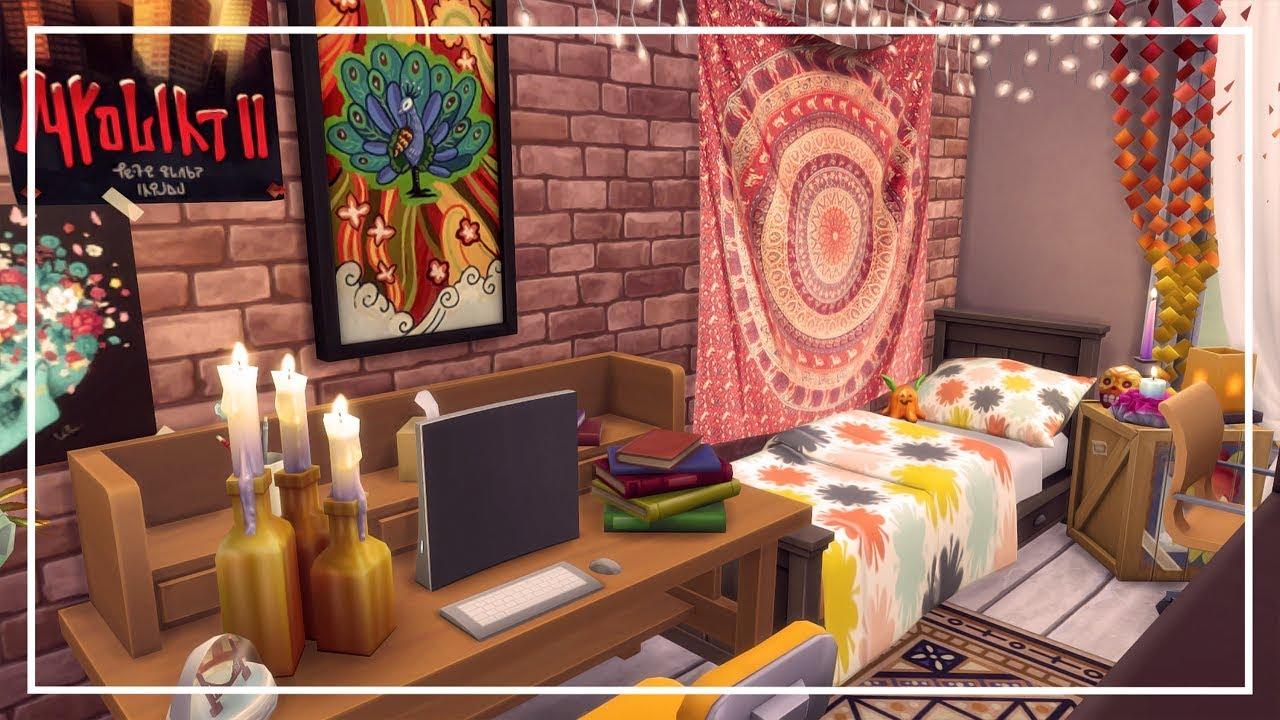 Sims  Dorm Room Cc
