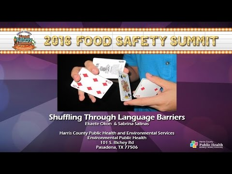 Food Safety Summit 2016 | Shuffling Through Language Barriers