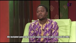 Olu Olowogemo Arijan aka Mr portable on GbajumoTV