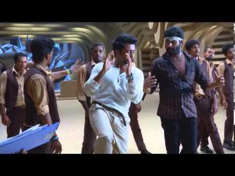Surya's Singam making video - idlebrain.com