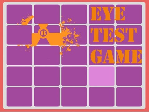 EYE TEST GAME? - YouTube