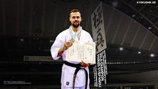 Μάριος Στεφάνου - Χρυσός Πρωταθλητής Ιαπωνίας αγώνων ημιεπαφής. I.K...