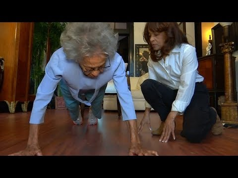 102-year-old Ida Keeling setting race records