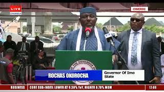'I Have Given Owerri A New Life', Okorocha Commissions High Court Complex