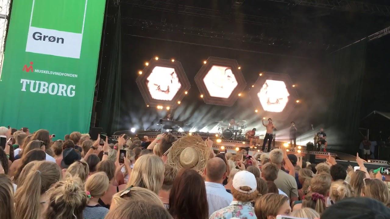 Lukas Graham 7 Years Live Grøn Koncert Esbjerg 2018 Youtube