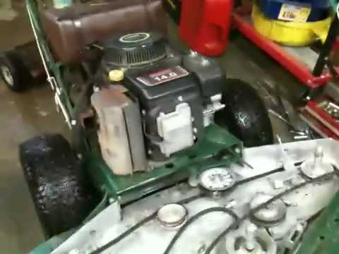 Lesco Amp Bunton Mowers Youtube