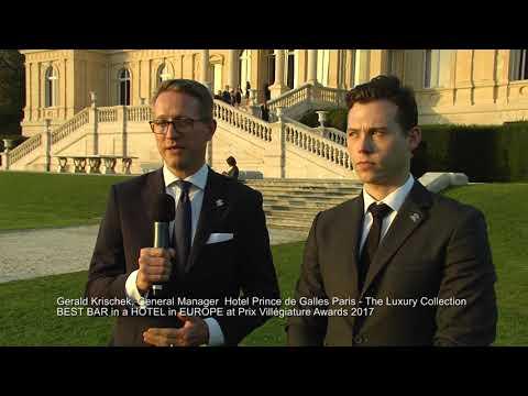 Interview De Gerald Krischek Pour Le Prince De Galles Paris BEST HOTEL BAR IN EUROPE