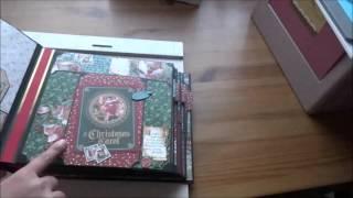 graphic 45 a christmas carol album tutorial part 1