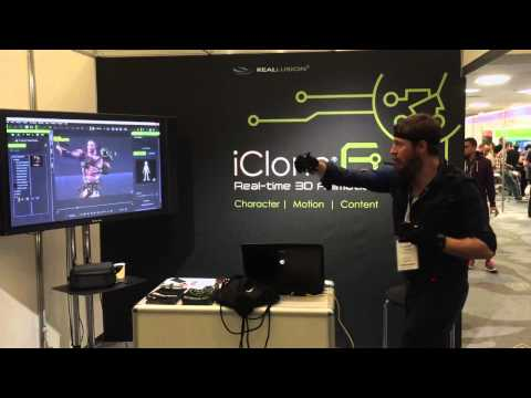 iClone Motion Capture with Perception Neuron at Develop:Brighton