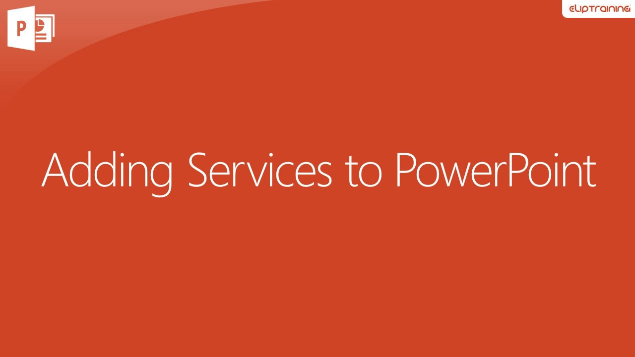 powerpoint services PowerPoint Services