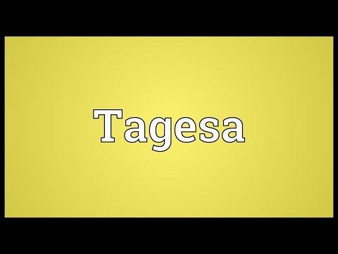 Header of Tagesa