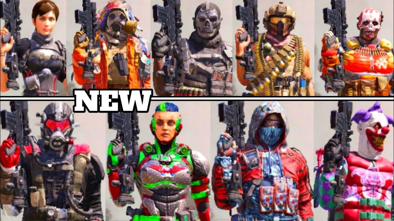 Season 8 Soldier Skin Leaks New Characters Revealed Call Of Duty Mobile Season 8 Leaks Youtube