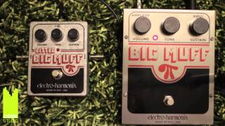 EHX Big Muff vs Little Big Muff